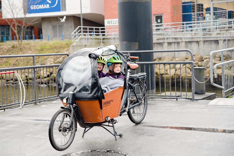 Perfektes Doppel: Lastenrad und Fähre. Ein Erfahrungsbericht