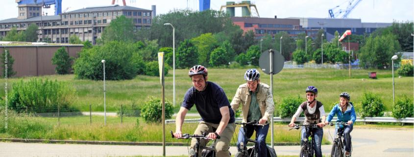 Fahrrad fahren in Kiel